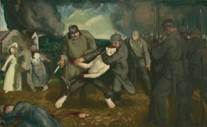 the-germans-arrive-by-george-bellows