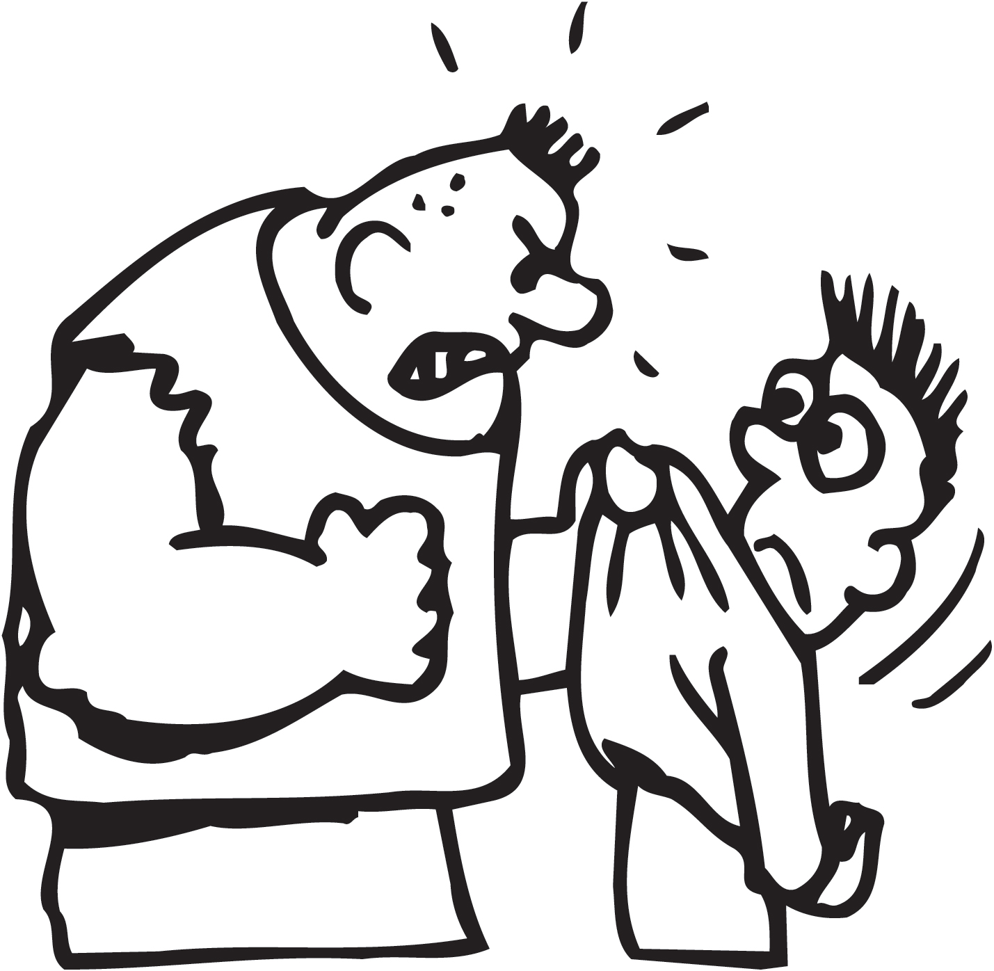 Black And White Cartoon Bullying Pictures to Pin on ...