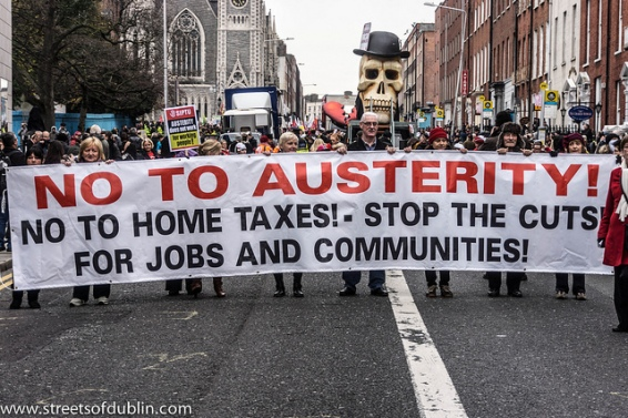 No-Austerity-protest