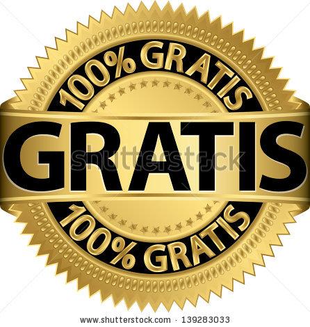 stock-vector-gratis-golden-label-vector-illustration-139283033